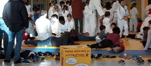 Téléthon judo-famille