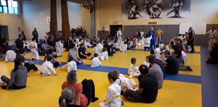 Téléthon judo famille 2019